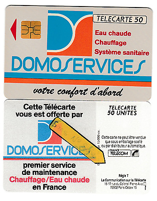 PH/TC >>  France   PP  50U  SO3   ''   DOMOSERVICES   ''    TBE
