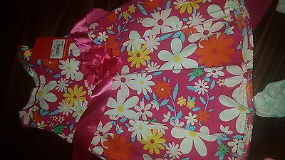"""*bnwt Baby Girls """"ollie's Place"""" Dress With Extras - Size 00*"""