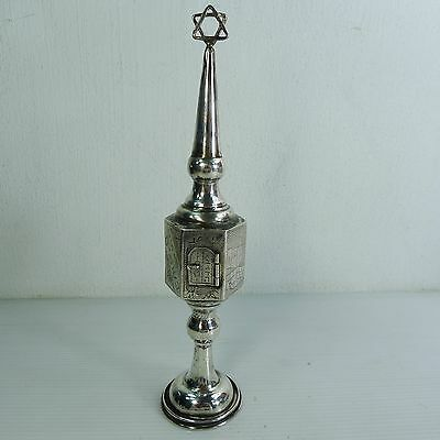 A Mid Century Silver 800 Judaica Spice Tower