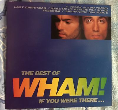 Wham The Best Of Wham! If You Were There...  cd Single Promo