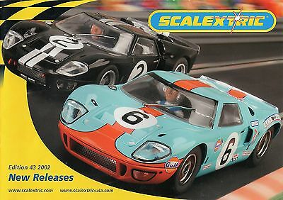 Scalextric 2002 New Releases Catalogue - Edition 43