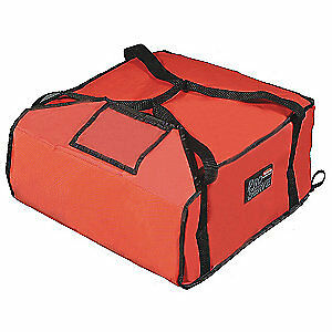 RUBBERMAID Nylon Insulated Bag,19 3/4 x 21 1/2,, FG9F3700RED, Red
