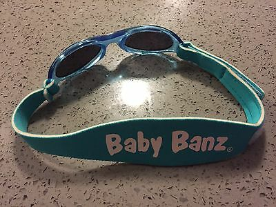 Baby Banz Adventure Sunglasses Aqua Size 0-2yrs