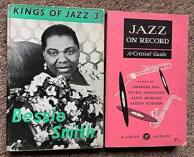 Collectable Vintage Kings of Jazz Bessie Smith books