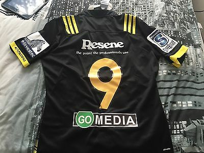 Rare adidas Wellington Hurricanes Super Rugby Shirt Jesery British Lions