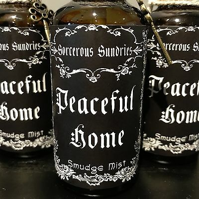 Peaceful Home Smudge Spray lavender/sage - wicca witchcraft pagan