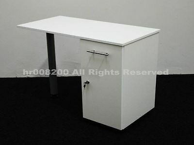 BRAND NEW WHITE Manicure Technicians Table Station Nail Bar .