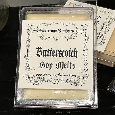Soy Butterscotch Melts - wicca witchcraft pagan