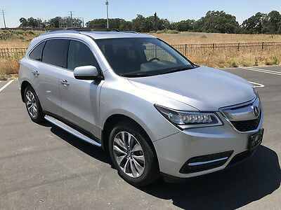 2014 Acura MDX Technology AWD Sport Utility 4-Door 2014 ACURA MDX TECHNOLOGY AWD, ONLY 31K MI, DON'T MISS!