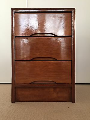 Vintage/Retro Side Table/Chest of Draws