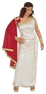 Ladies Roman Lady Velvet Costume Extra Large UK 18-20 for Toga Party Rome Fancy