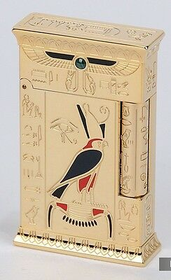 S.T. Dupont Gold Pharaoh Limited Edition Lighter Line 2 Rare 1031 / 2575