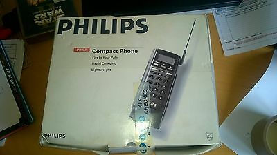 PHILIPS PRW9250 Vintage Retro Brick With Original Box and Charger