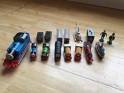 Vintage ERTL Thomas the Tank Engine Bundle - Including Figures - Good Condition