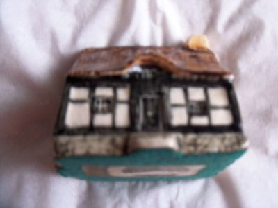 """Britain in Miniature"" Ceramic Cottage- Handcrafted"