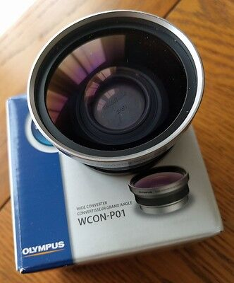 Olympus wcon wide angle converter