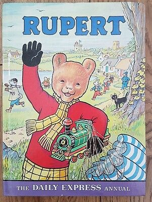 The Daily Express Rupert Annual 1976 in Excellent Condition