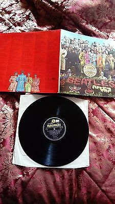 THE BEATLES SGT PEPPERS LONELY HEARTS CLUB BAND 1967 UK 1st PRESS STEREO VINYL
