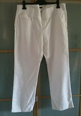 Gap maternity summer trousers size 16