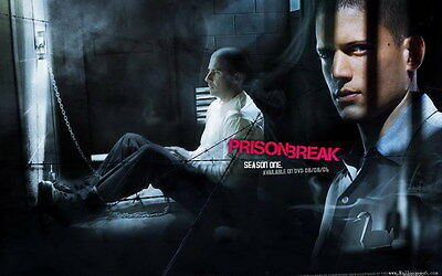 "003 Wentworth Miller - Prison Break American Actor 22""x14"" Poster"