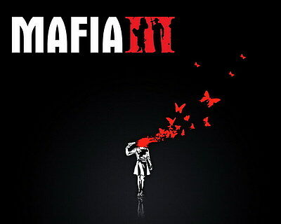 """002 Mafia 3 - Action Role Play Game 17""""x14"""" Poster"""