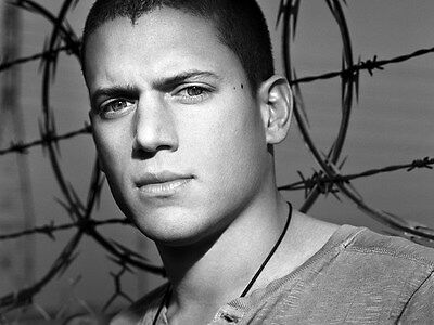 "037 Wentworth Miller - Prison Break American Actor 18""x14"" Poster"
