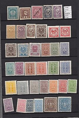 Stamps Lot  Austria Mnh**   (L17906)