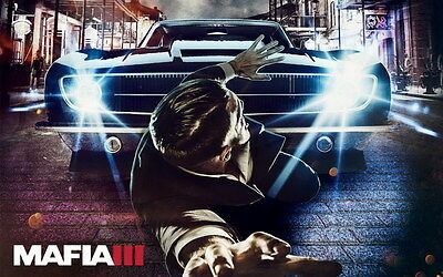"006 Mafia 3 - Action Role Play Game 38""x24"" Poster"