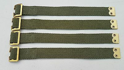 Land Rover Pioneer tool straps x4 Military Army Tailgate fixing straps