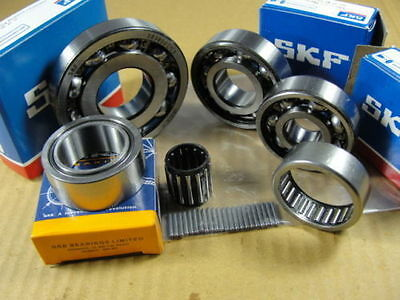 Engine Bearing Kit Vespa Px T5 125 150 200 Lml - Skf+Nrb High-Quality Brand New
