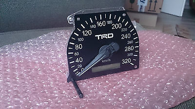 TRD Style 320 Km/h Speedometer for Toyota Chaser, Mark II, Cresta (jzx100) AT/MT