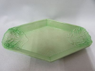 Carlton Ware Lettuce Leaf Serving Tray Stamped Numbered 1387/2