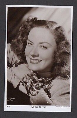 Audrey Totter Picturegoer W Series Film Star Cinema Actress Postcard W 464