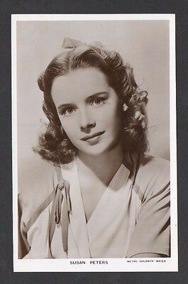 Susan Peters Picturegoer W Series Film Star Cinema Actress Postcard No W 102