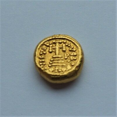 Rare! Exceptionally Beautiful Chunky Coin!   --   Emperor Constant II 641-668 AD