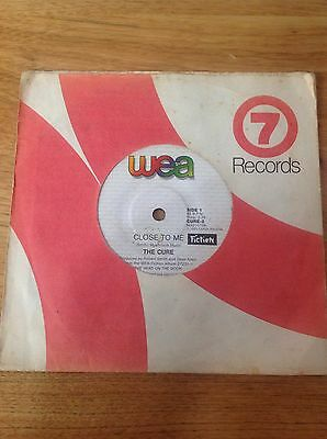 The Cure 45 Rpm Vinyl Record Album Double Sided