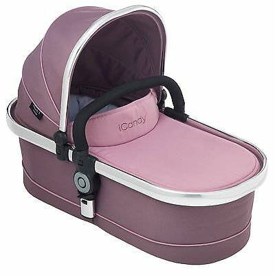 iCandy Peach 3 Main Carrycot Marshmallow RRP £185 Inc Raincover Brand New In Box