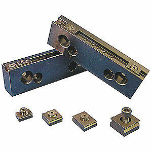 MITEE-BITE PRODUCTS INC Vise Jaw Grips,10-32 Screw,1/2in,PK2, 32050