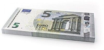 75 X and euro;5 EURO Cashbricks Play Money Notes - Size: 125%
