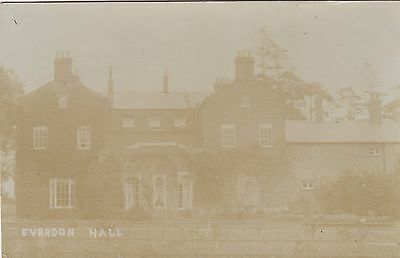Everdon Hall, Country House, Northamptonshire. Rp, 1906.