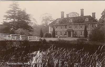 Newtimber Place, Sussex. Rp, C1920.