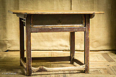 Swedish Scandinavian Cobbler's Table / Work Bench / Side Table