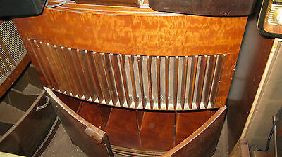 Beau Decca Period Empty Cabinet For Hi-Fi Vintage/ Record Compartment With Doors