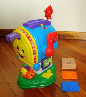 FISHER PRICE Laugh & Learn LEARNING LETTERS MAILBOX Letterbox TOY Playset KIDS