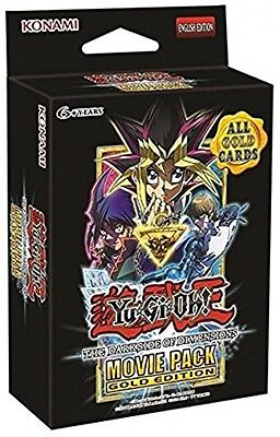 Yu-Gi-Oh! YGO-542132-EN Movie Pack Gold Edition English The Dark Side Of Game