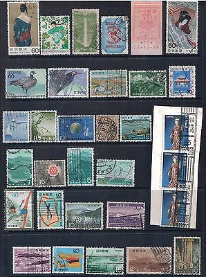 JAPAN - Mixed Lot of 28 Stamps  Lot 3, most Good Used, LH