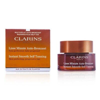 Clarins Lisse Minute Autobronzant Instant Smooth Self Tanning 30ml Sun Care