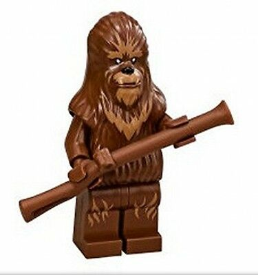 LEGO Wookie Warrior With Rifle STAR WARS REBELS Minifigure From Set 75084 New