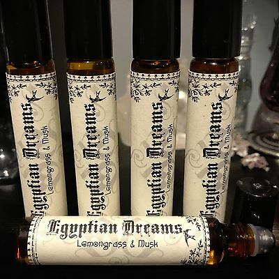 Egyptian Dreams perfume roll on oil - Wicca, Witchcraft, Pagan