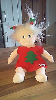 Ty Beanie Baby Kids Noelle For Christmas  Cute Plush Collectables New With Tags